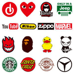 Retro Funky Stickers (100 Pieces in one pack) 💯