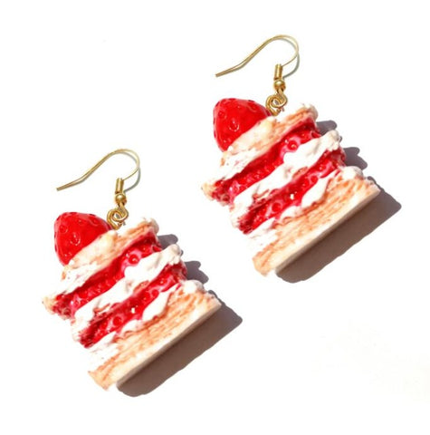 Handmade Food Earrings 🍩