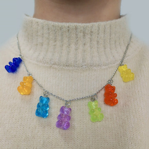 Gummy Bear Chain Necklace 🐻