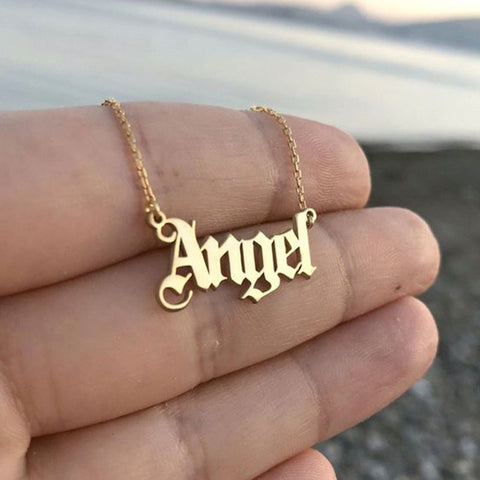 Letter Necklace 💛