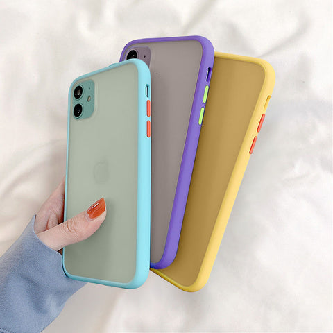 Silicone Matte Bumper iPhone Cases 📱🌈