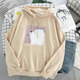 Cartoon Oversized Hoodie 🐻
