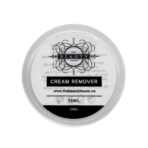 Cream Remover for Eyelash Extensions