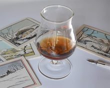Load image into Gallery viewer, Mountain Range Brandy Glass