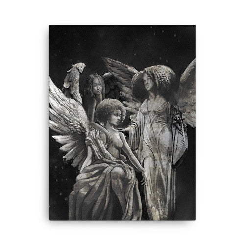 SCULPTED ANGELS 18x24 / 24 x 36 Canvas