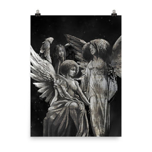 SCULPTED ANGELS 18x24 / 24x36 Print
