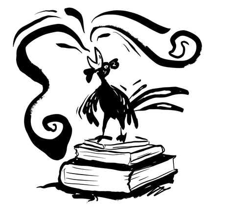 rooster-crowing-atop-your-library