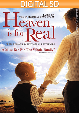 Heaven Is for Real SD - eVideoClub