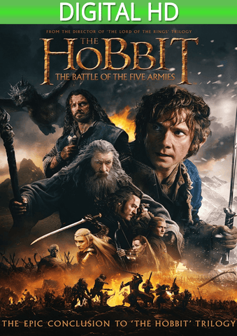 The Hobbit: The Battle of the Five Armies HD - eVideoClub