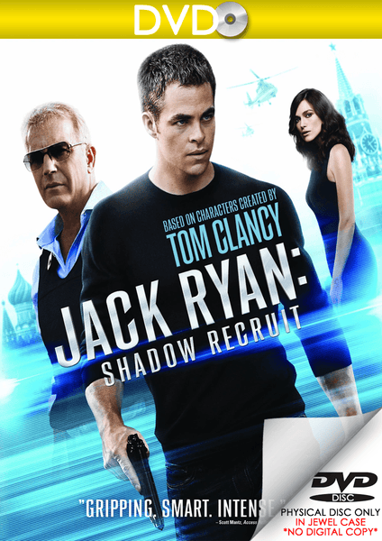 Jack Ryan: Shadow Recruit (DVD Disc)