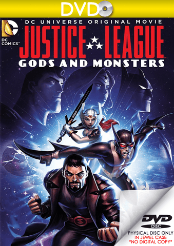 Justice League: Gods and Monsters (DVD Disc) - eVideoClub