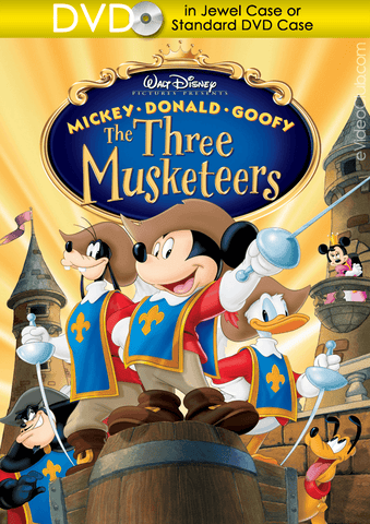 Mickey, Donald, Goofy: The Three Musketeers (DVD Disc) - eVideoClub