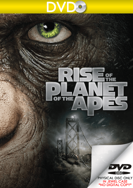 Rise of the Planet of the Apes (DVD Disc)