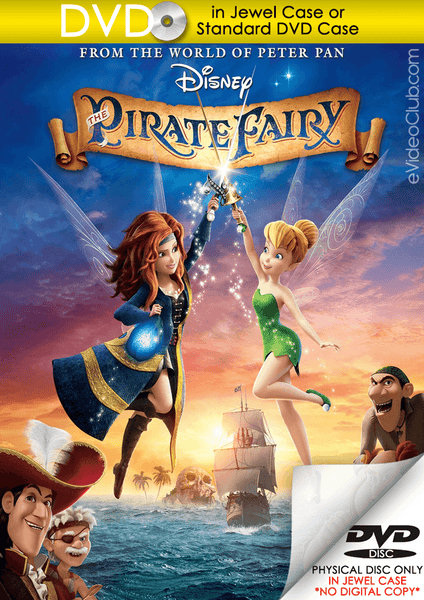 The Pirate Fairy (DVD Disc)