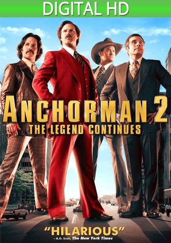 Anchorman 2: The Legend Continues HD - eVideoClub