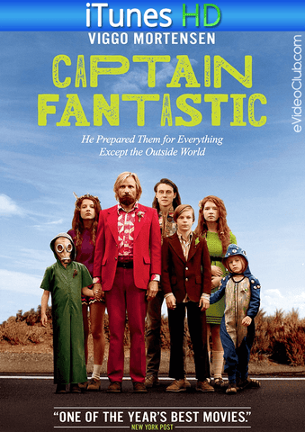 Captain Fantastic iTunes HD