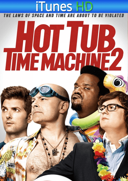 Hot Tub Time Machine 2 iTunes HD