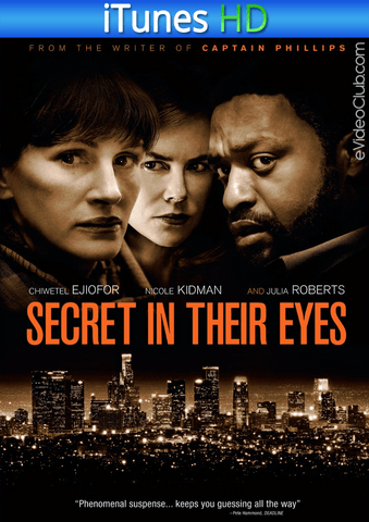 The Secret in Their Eyes iTunes HD - eVideoClub