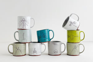 Earthenware Mini Mugs