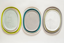 Load image into Gallery viewer, Earthenware Small Oval Serving Tray  (made-to-order)