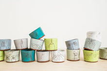Load image into Gallery viewer, Earthenware Tiny Cups  (made-to-order)