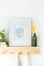 "Load image into Gallery viewer, 8x10"" Veggie Platter Letterpress Print"