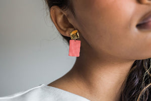 Midi Link Earrings
