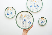 Load image into Gallery viewer, Porcelain Floral Plates