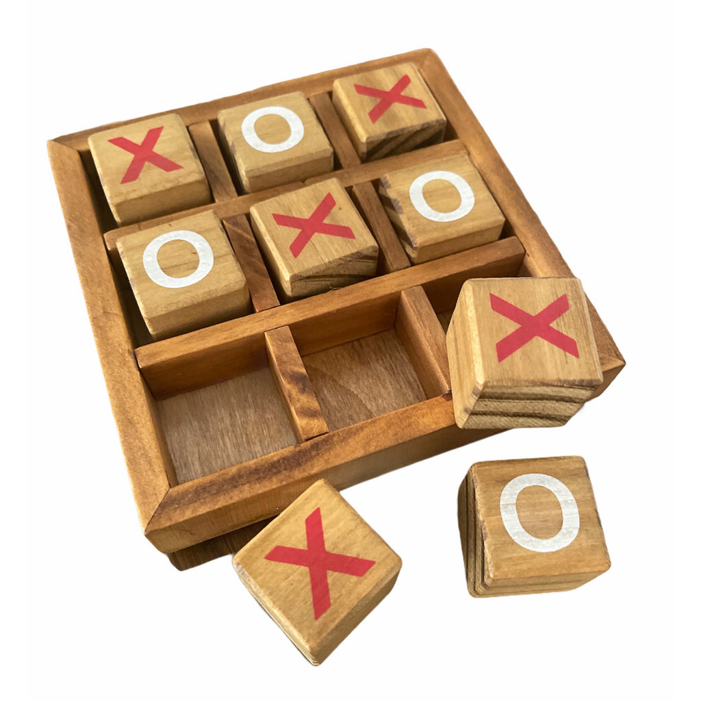 Tic Tac Toe Wooden.