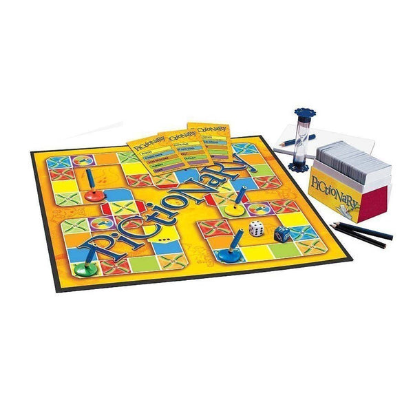 Pictionary Board Game.