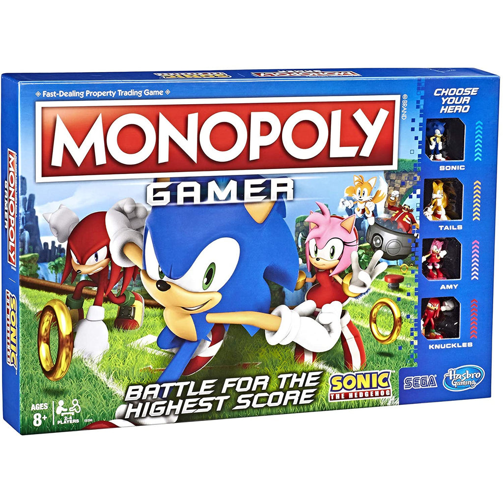 Monopoly Gamer Sonic The Hedgehog Edition.