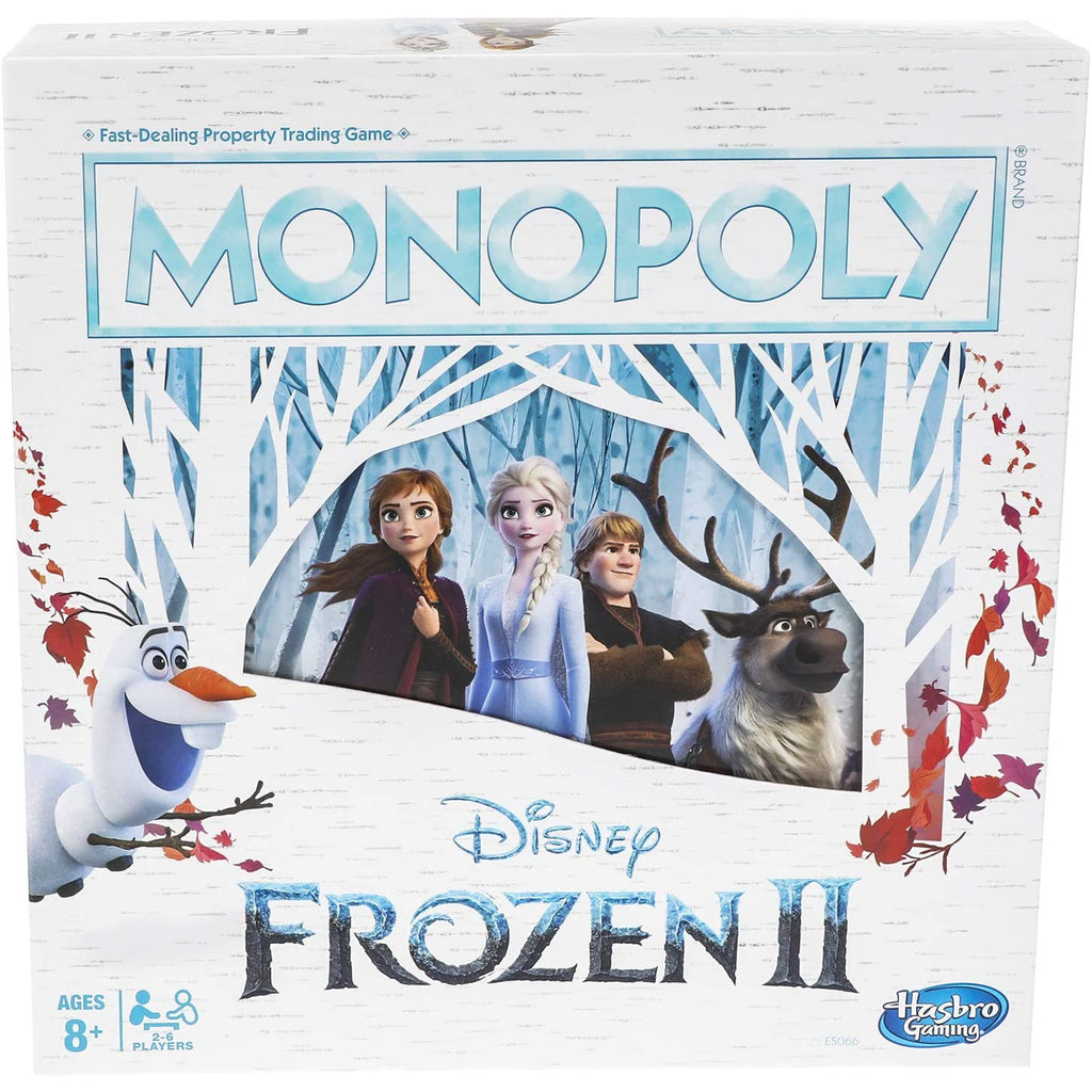 Monopoly Game: Disney Frozen 2 Edition.