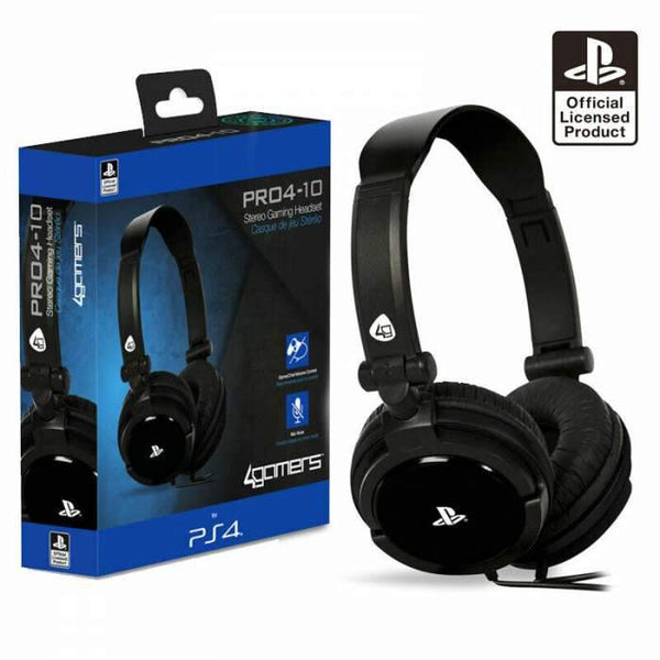 4Gamers PRO4-10 PS4 Headset - Black - Shopna Online Store