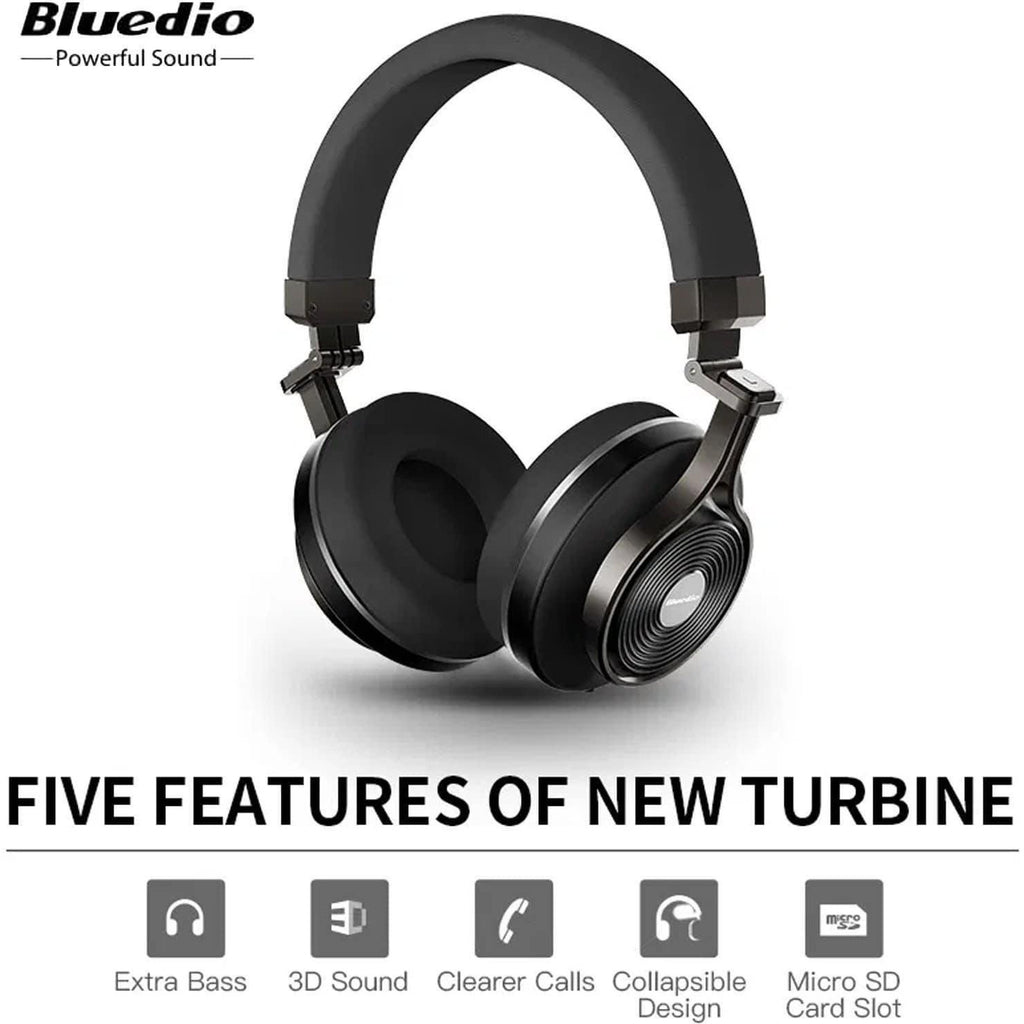 Bluedio T3 Plus Bluetooth - Shopna Online Store
