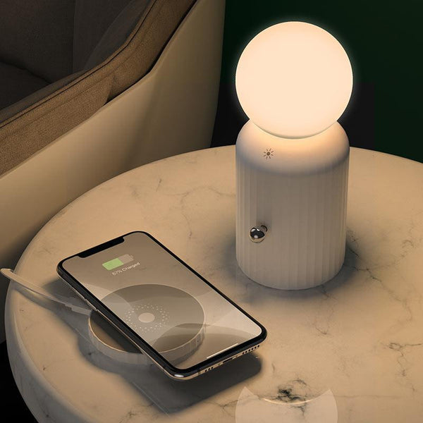"hoco. Night light ""H8 Jewel"" with wireless charger - Shopna Online Store"