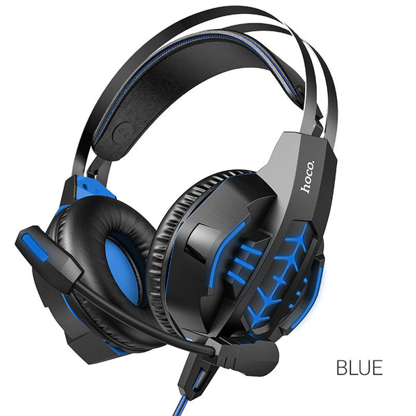 "hoco. Headphones ""W102 Cool tour"" gaming headset"