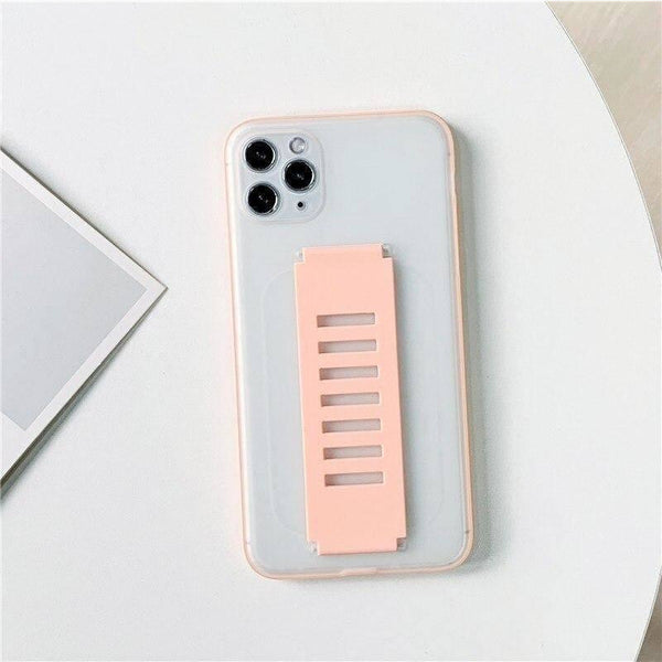 Strap Holder Clear Case For Apple iPhone 11 Pro - Shopna Online Store