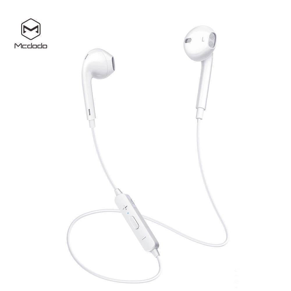 Original McDodo Element Series Bluetooth Earphone White HP-6060 - Shopna Online Store