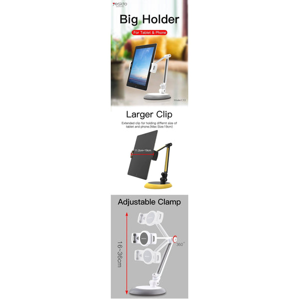 Portable Table IPad Stand For Mobiles And Tablets UpTo 11 Inch - Shopna Online Store