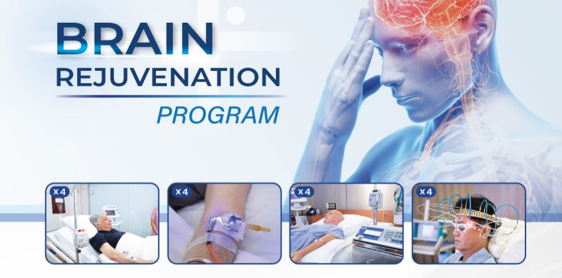 Brain Rejuvenation Program - 4 Sessions (20% off)