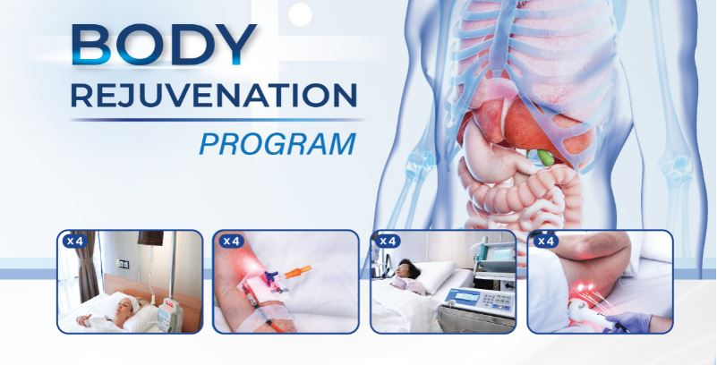 Body Rejuvenation Program - 4 Sessions (15% off)