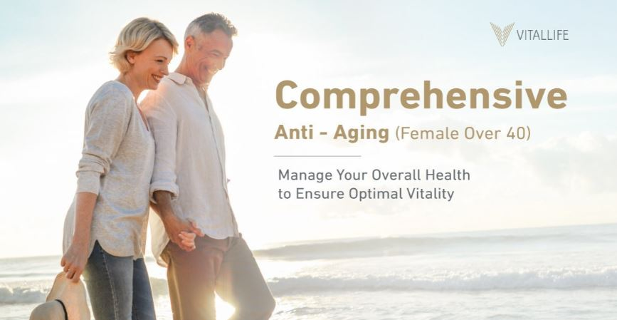 Female Comprehensive Anti-Aging Program (Over 40)