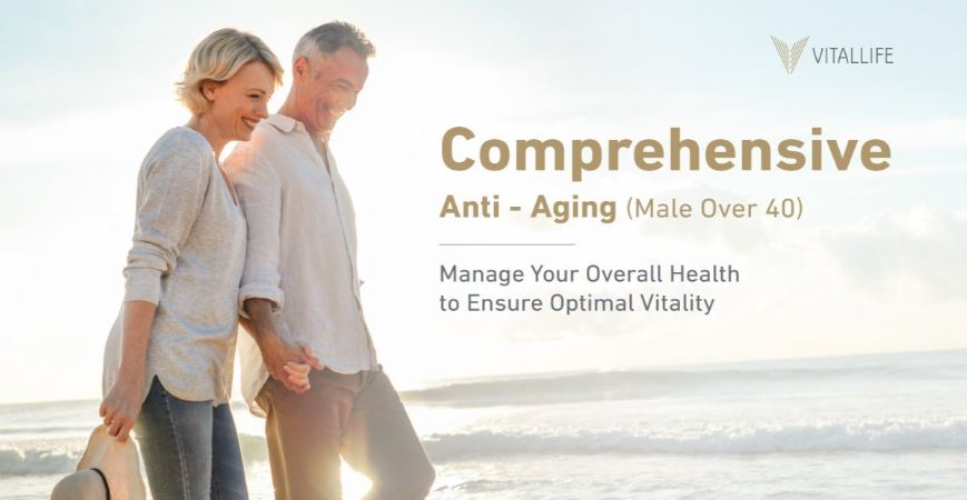 Male Comprehensive Anti-Aging Program (Over 40)
