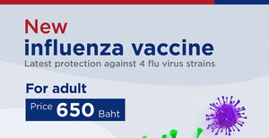 New Influenza Vaccine Delivered to Your Home (Phuket)