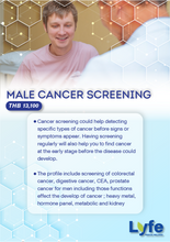 Load image into Gallery viewer, Male Cancer Screening