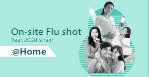 Flu Vaccine Shot Delivered to Your Home