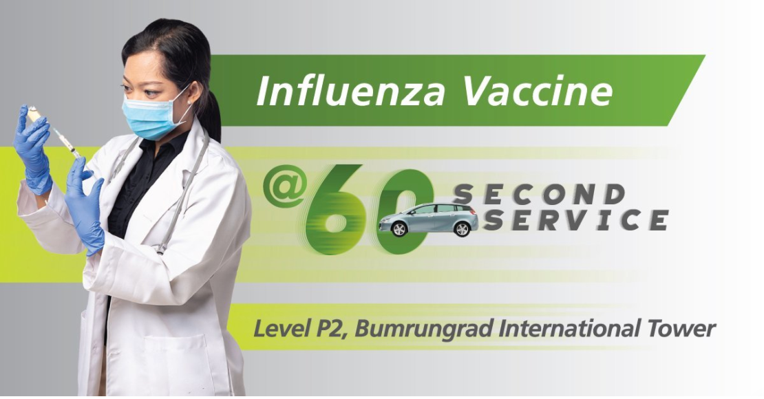 Flu Shot at the 60 Second Service Clinic - Special Price 2020