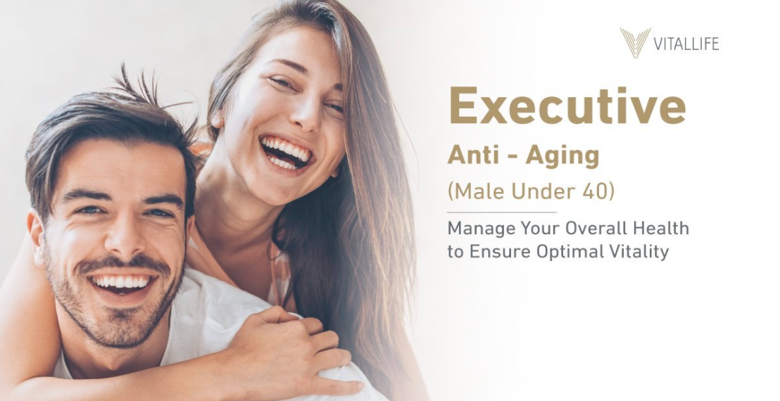 Male Executive Anti-Aging Program (Under 40)