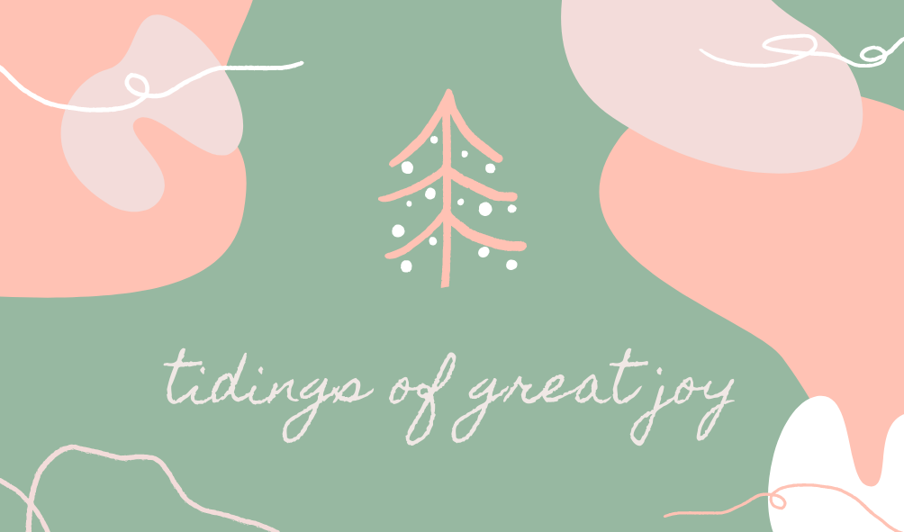 Tidings Of Great Joy Gift Card