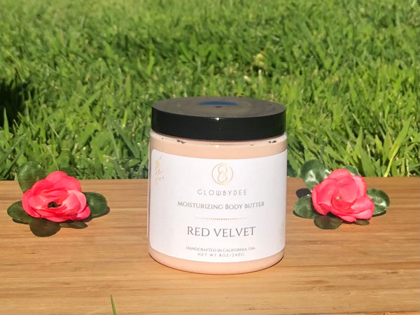 Red Velvet Body Butter - Glowbydee
